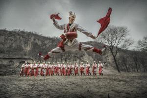 IUP Honor Mention - Jianguo Bai (China)  Waist Drum