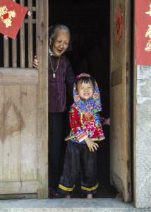 CPC Merit Award - Hua Tang (China)  With Grandma2
