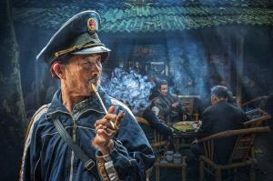 PSA Gold Medal - Arnaldo Paulo Che (Hong Kong)  Old Tea House 9
