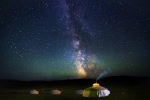 PSA HM Ribbons - Weiguo Hu (China) <br /> The Prairie Night