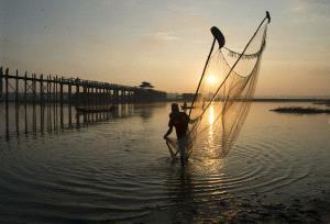 PSA HM Ribbons - Fang Li (China)  Morning Of U Bein Bridge