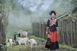 CPC Merit Award - Xin Yan (China)  Morning Mist Of Yi Village