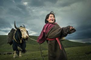 CPC Merit Award - Baoyi Huang (China)  Girl Of Grassland