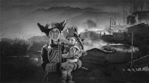 PhotoVivo Honor Mention - Peiwang Huang (China) <br /> Yi Mother And Son