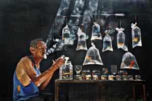 CPC Merit Award - Soon Seng Leong (Malaysia) <br /> Fish Seller 407