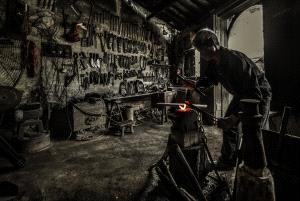 PhotoVivo Honor Mention - Jianqiang Zhou (China)  Blacksmith's Shop