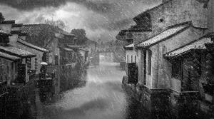 CPC Bronze Medal - Jingzhi Gao (China) <br /> Ancient Town