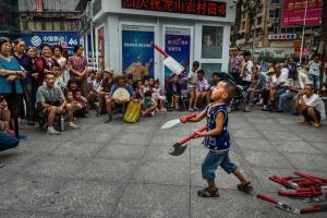 APU Honor Mention e-certificate - Minghai Xiang (China) <br /> Street Performance