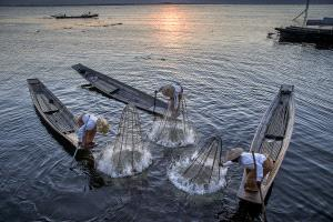 PhotoVivo Gold Medal - Kam Chiu Tam (Canada) <br /> Burma Fishing