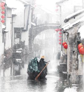 PhotoVivo Gold Medal - Ruiyuan Chen (China) <br /> Snow Rhyme In Jiangnan1