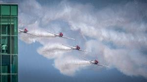 PhotoVivo Honor Mention - Albert Figuccio (USA) <br /> Ac Airshow Flyby