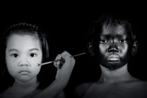 APAS Honor Mention - Thi Ha Maung (Myanmar) <br /> Painting Balck And White